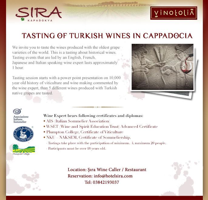Şıra'da şarap tadımları ing